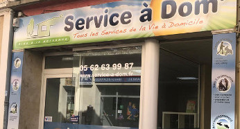 Service à Dom' Isle Jourdain