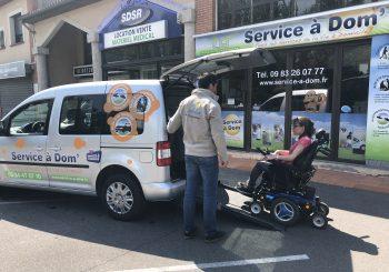 Nouveau service, transport adapté