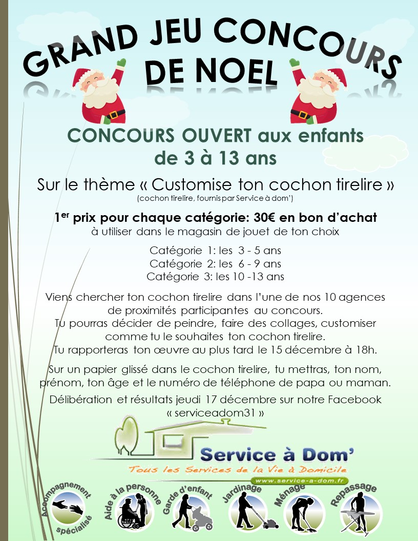 GRAND JEU CONCOURS DE NOEL