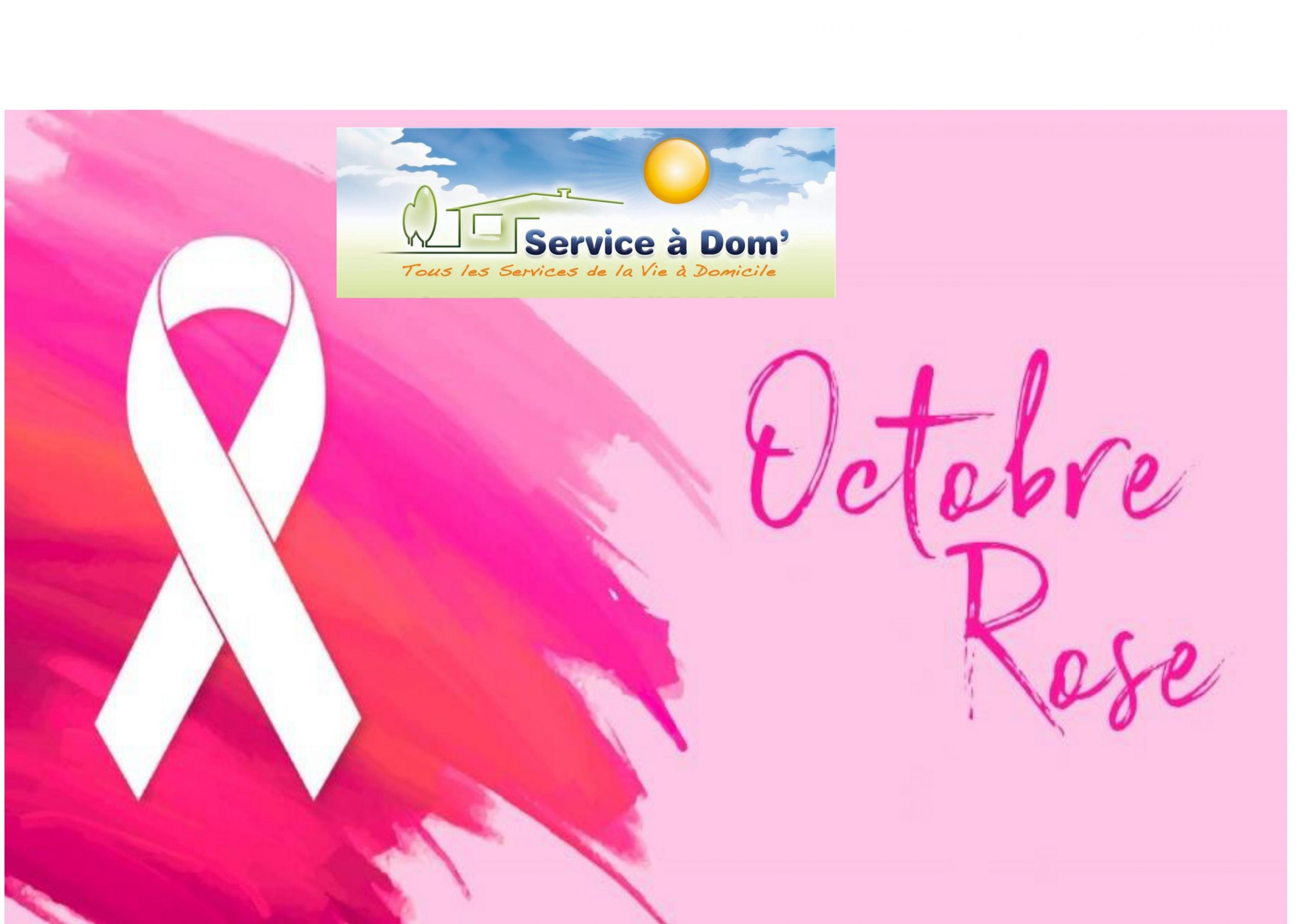 Service a Dom' un octobre en rose